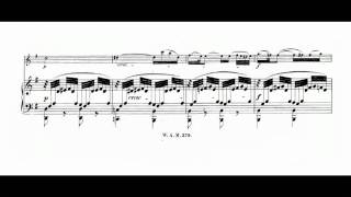 W.A.Mozart Sonata in G major for violin and piano K 379 (1/2)