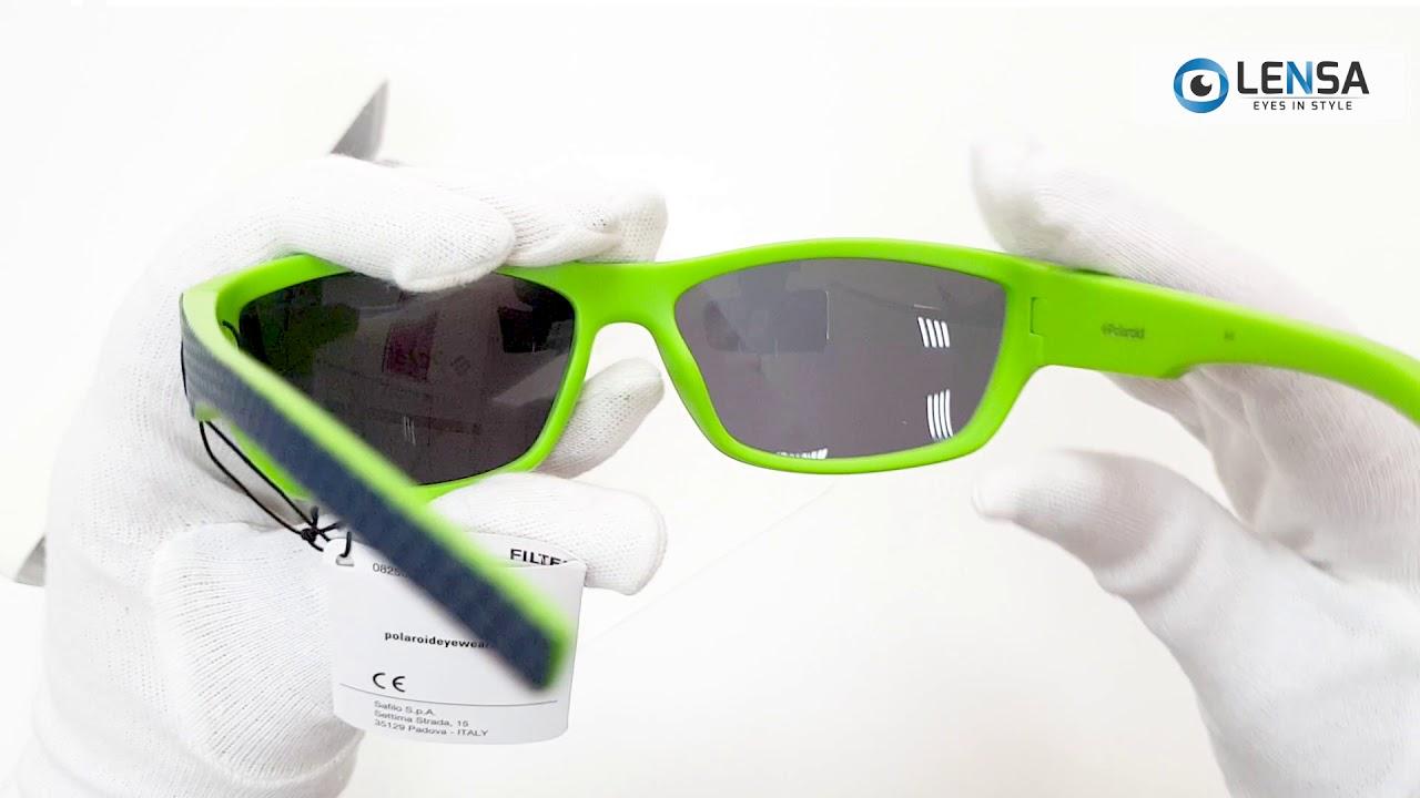 textură bună magazin pe picioare imagini din Unboxing ochelari de soare barbati POLAROID PLD 7007/S RNB/C3 ...