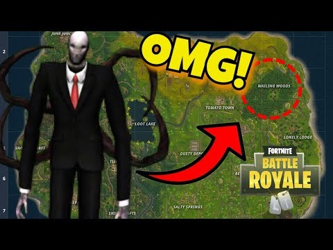 *NEW* SLENDERMAN FOUND in Fortnite: Battle Royale!