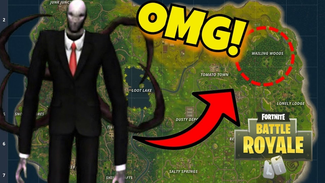 New Slenderman Found In Fortnite Battle Royale