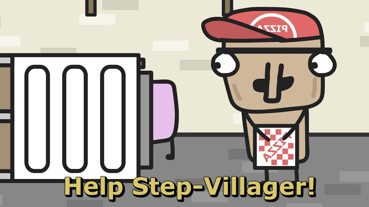 Step-Villager, what are you doing??