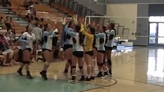 Heritage High School: Girls Varsity Volleyball 8-29-18