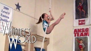 strongest girl in the world tops gymnastics workout whitney