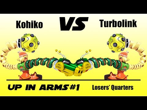 Up In ARMS #1: Origins - Kohiko (Min Min) Vs. Turbolink (Min Min) - Losers' Quarters