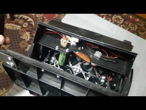 Переделка печки Ваз 2107 на кулеры и четыре скорости