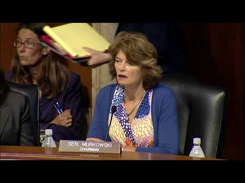 Murkowski's Opening Statement from Today's Business Meeting