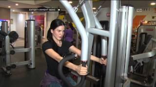 Alice Norin menjaga kesehatan dengan rajin berolahraga Gym