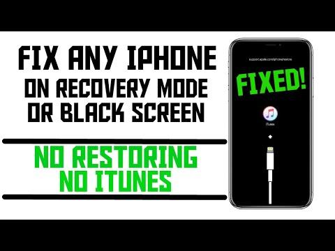 Cara mengatasi iphone 7,8, dan X stuck di logo iTunes.