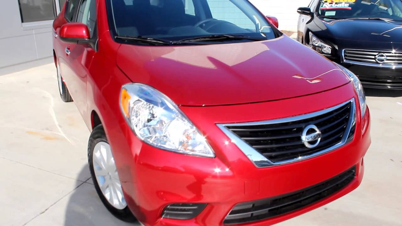 2013 nissan versa sedan 1 6 sv youtube. Black Bedroom Furniture Sets. Home Design Ideas