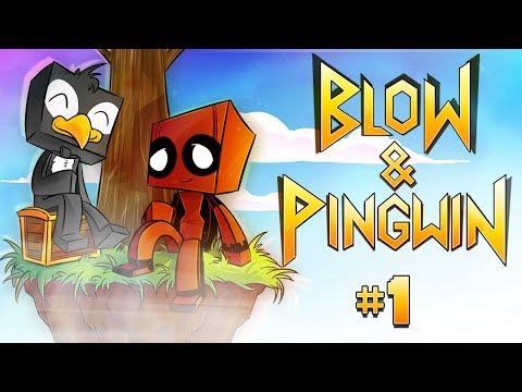 Blow & Pingwin SKY DEN - TAJEMNICZA WYSPA! (Odcinek 1)