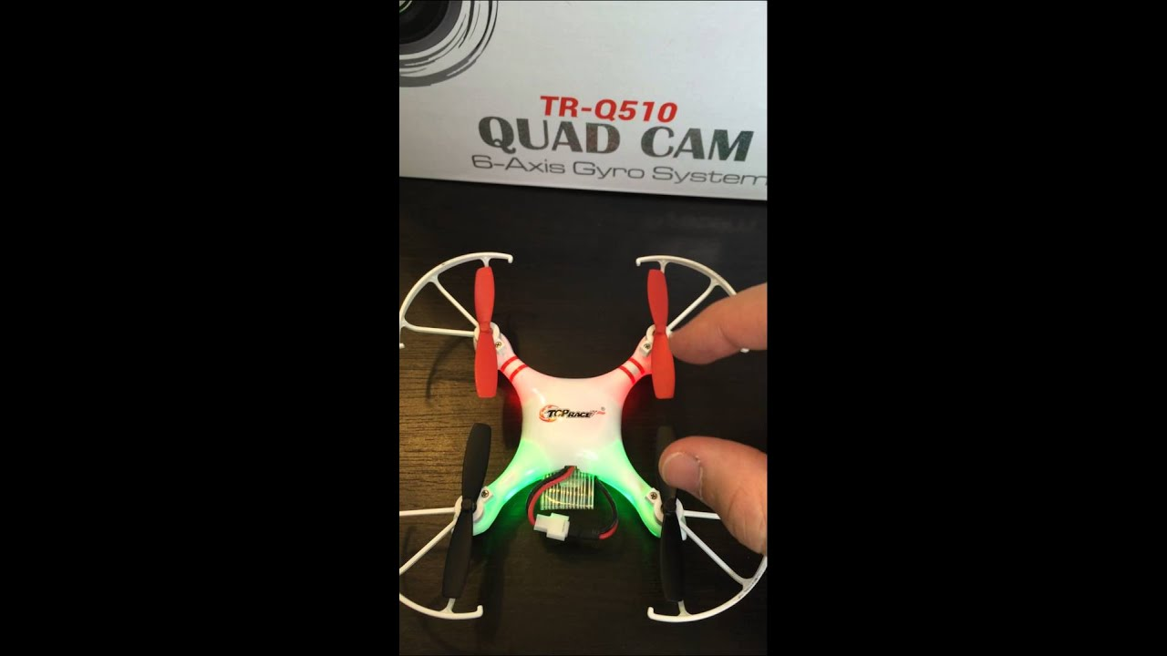 How to install Drone propellers, the right position
