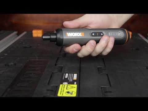 Parafusadeira WX240 Screwdriver Pen Worx - A Mega Loja