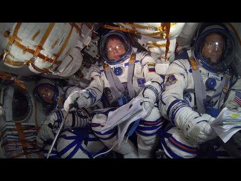 Soyuz ride into space