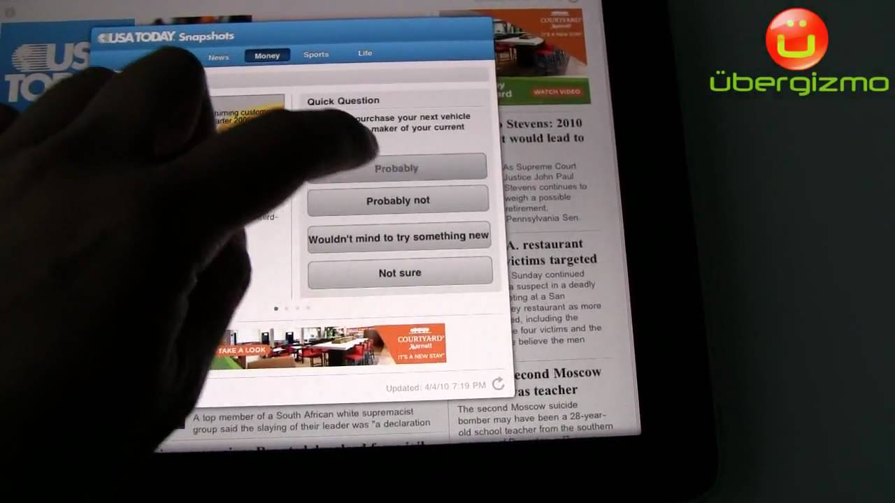 iPad Review | Ubergizmo