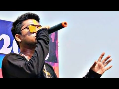 Live performance by sampreet  Dutta Hyderabad durga puja || video song || live show || romantic song