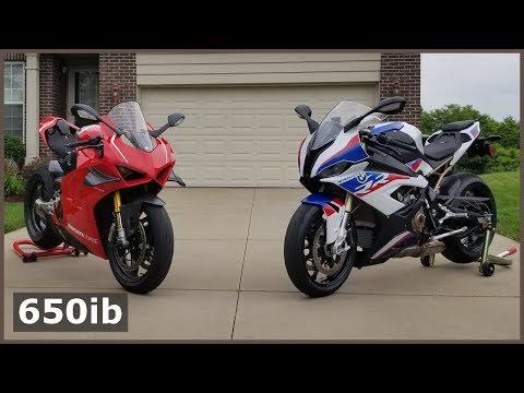 NEW S1000RR Has THE BEST GAUGES | Ducati V4R SMACKDOWN!