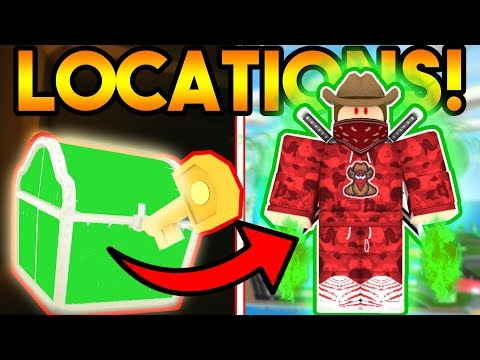 CURSED TREASURE CHEST TUTORIAL! (MAP AND ALL KEY LOCATIONS!) | ROBLOX: Mad City