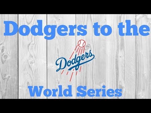 Dodgers advance to the WORLD SERIES!!! LIVE REACTION!!!