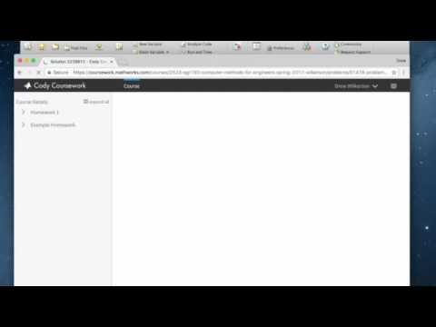 Matlab Coursework Help - Matlab Assignment Help