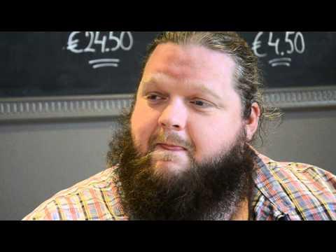 MATT ANDERSEN interview  @ MOULIN BLUES, OSPEL - 02/05/15