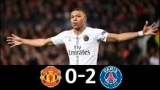 Manchester United vs PSG 0-2|Champions League 2018-19