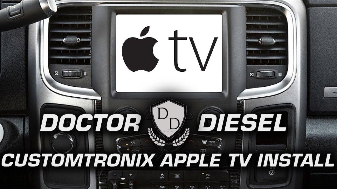 Customtronix Apple TV Jailbreak for UConnect Installation Overview