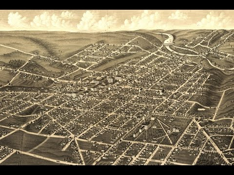 Ann Arbor Michigan History and Map (1880) - Interactive Journey