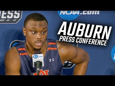 Auburn basketball press conference before first round of NCAA Tournament