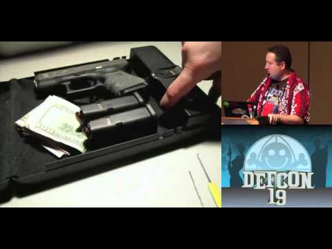 [DEFCON 19] Safe to Armed in Seconds: A Study of Epic Fails of Popular Gun Safes