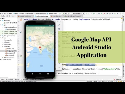 Using Google Map API In Android Studio Application
