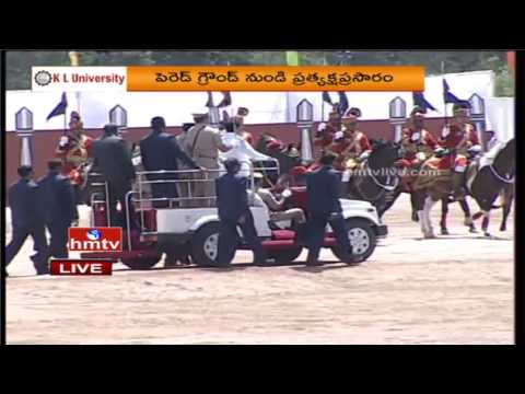 Telangana State Formation Day Celebrations In Hyderabad   LIVE From Parade Grounds   HMTV