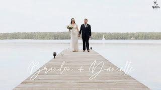 bride & groom danced the night away    Brandon & Danielle Highlight Video   Richmond, VA