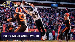 Every Mark Andrews Touchdown in 2019 | Baltimore Ravens