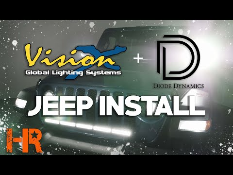 1000+ Feet of Light with 2 Simple Installs | Jeep Wrangler JL Off-Road Lighting