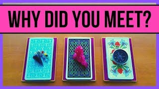 WHY DID YOU MEET THIS PERSON? ❤️ *Pick A Card* Love Relationship Tarot reading Timeless