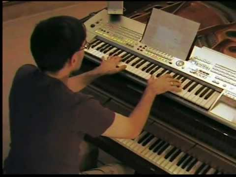 50 Dance Pop Songs NONSTOP (2) on piano & keyboard synth by LIVE DJ FLO