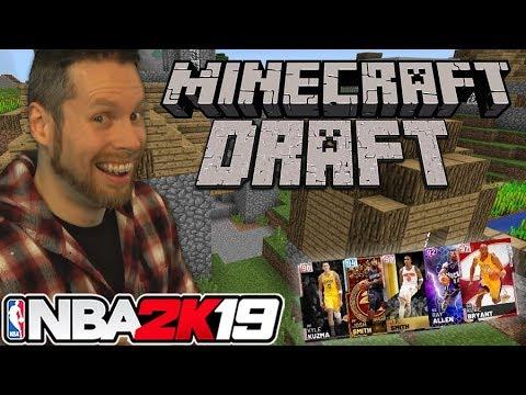 NBA 2K19 Minecraft Draft