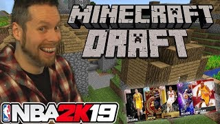 NBA 2K19 Minecraft Draft