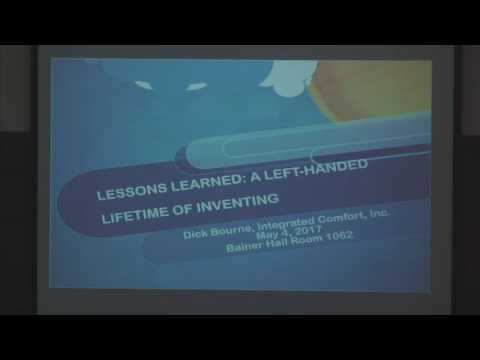 Lessons Learned: A Left-Handed Lifetime of Inventing