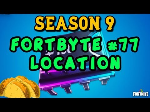 Found Within A Track Side Taco Shop - Fortnite Fortbyte #77 Location Guide