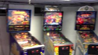 Basement Video Game Arcade