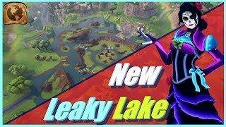 *NEW* Leaky Lake + Rosa Skin - Fortnite Battle Royale Season 6 Gameplay