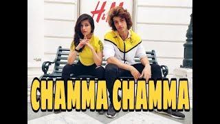 CHAMMA CHAMMA | DANCE CHOREOGRAPHY | DEEPAK & PRIYANKA