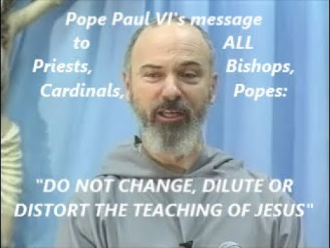 """DO NOT CHANGE, DILUTE OR DISTORT THE TEACHING OF JESUS CHRIST"""