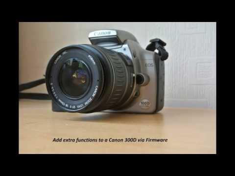 Canon EOS 300D Firmware Hack/update