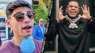 I WANNA SLAP HANEY RYAN GARCIA RESPONDS TO PED CANELO CAMP ACCUSATION FROM DEVIN HANEY