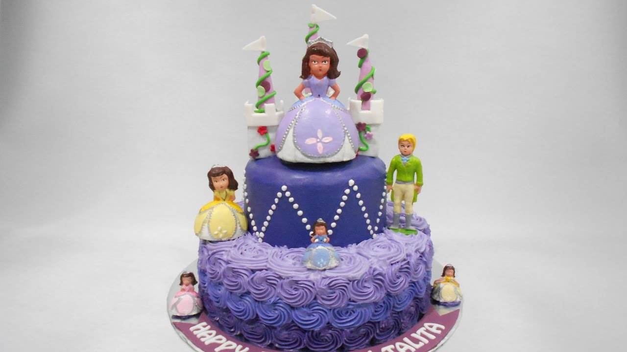 Princess Sofia Birthday Cake Ideas Youtube