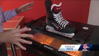 Made in Mass: Company's gear in demand from ice hockey pros