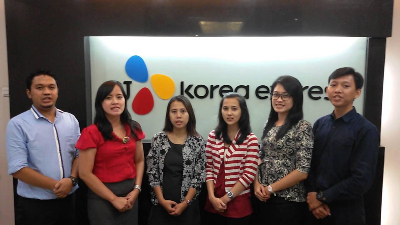 CJ Korea Express - Opening of News Broadcast