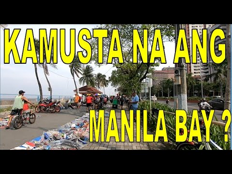 KAMUSTA NA MANILA BAY ? | BAYWALK ROXAS BOULEVARD MANILA | PASYAL TIME | STREET VLOG TOUR